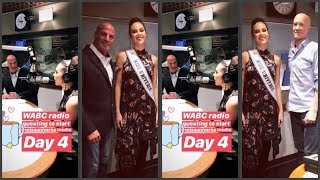 (LISTEN) Miss Universe 2018 Catriona Gray - Day 4 WABC Radio Interview