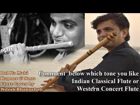 Bolna Mahi   Kapoor & Sons   Flute Cover by Nilesh Bhanushali