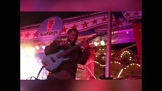 Bruno Mars 24K Magic Bass Guitar - De'Marcus Walker
