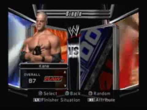 2006 raw roster smackdown vs wwe
