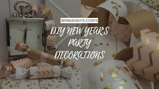 DIY New Years Party Decorations