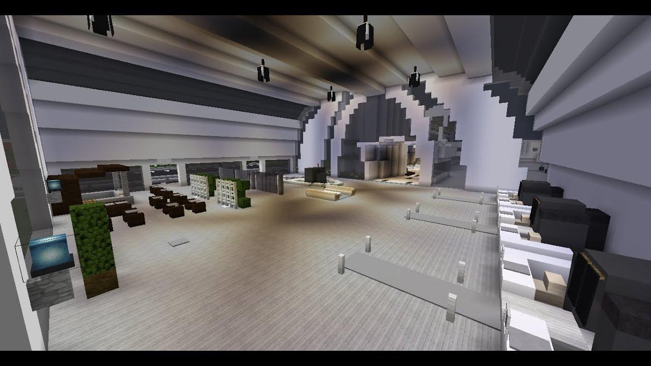La ville moderne int rieur de l 39 a roport 32 youtube for Interieur moderne