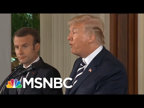Hartley: President Emmanuel Macron Is 'Master Of Strategy' | MSNBC