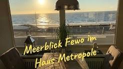 Neue Meerblick-Fewo im Haus Metropol Westerland-Sylt zentrale Lage zum Strand und Friedrichstrasse