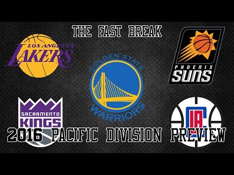 2016 NBA Pacific Division Preview (Part 1)