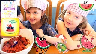 Μπισκοτάκι Καρπουζάκι🍉βίντεο διασκέδαση παιχνίδια για παιδιά ελληνικά greek Συνταγές μαγειρικής