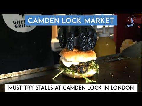 Must Try Stalls At Camden Lock Market