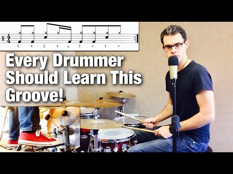 Every Drummer Should Learn This Groove! Kick Independence | Drum Lesson