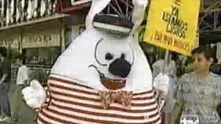 Incendio Apumanque 1992 - Reapertura (Teletrece)