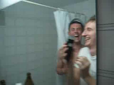 Niall & Marti Shaving Their Eyebrows
