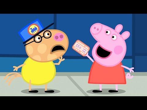 Peppa Pig en Español Episodios completos 🚂 Paseo en tren ⭐️ Compilación de 2019 ⭐️ Dibujos Animados