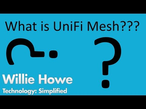 What is UniFi Mesh?