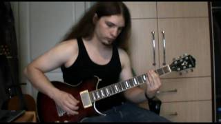 Devildriver - Forgiveness is a six gun (guitar cover) (HQ)