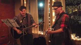 The Victorian Model Citizens Cover Johnny Cash Dark as a Dungeon at Fourteen Eighteen Coffeehouse