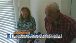 Valrico home in senior retirement community shot up early Friday morning in a 'targeted' event