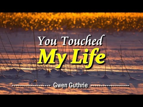 You Touched My Life - Gwen Guthrie (KARAOKE)