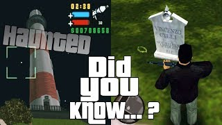 GTA Liberty City Stories Easter Eggs and Secrets