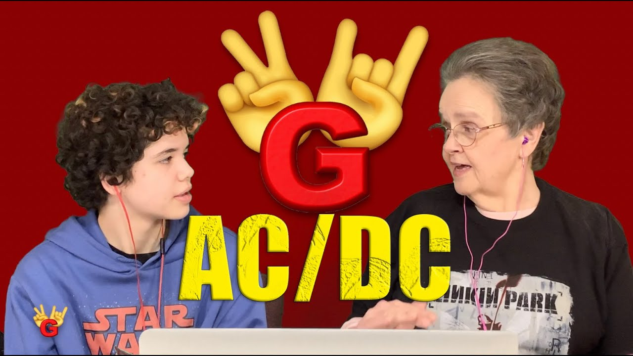 2RG REACTION: AC/DC - REALIZE - Two Rocking Grannies!