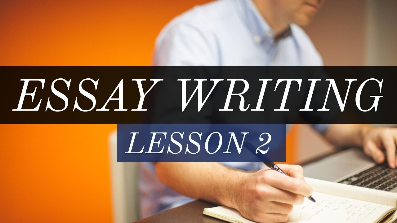 college essay writing lessons