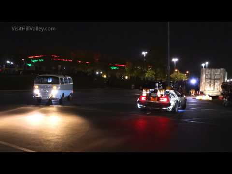 Terrorists catch Doc and Marty at Twin Pines Mall