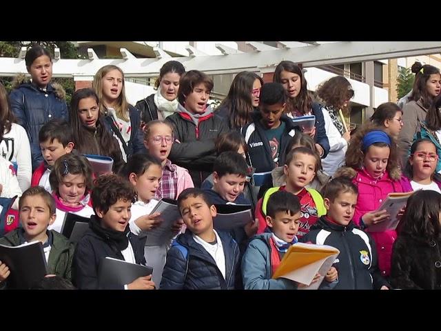 Curs 2017-18 - Cor Escolar - Albaes de la xurra - Parc de la Glorieta
