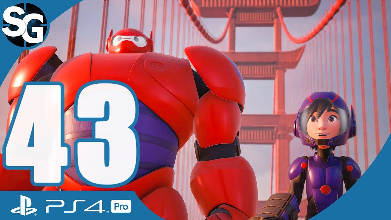 Kingdom Hearts 3 Walkthrough Gameplay No Commentary San Fransokyo Big Hero 6 Part 43 Youtube