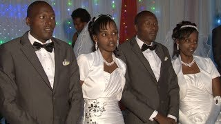 RWANDA: TWIN BROTHERS MARRY TWIN SISTERS!
