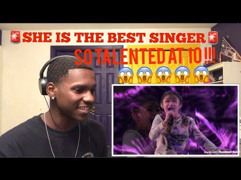 Angelica Hale 10 Year Old Singer Blows Audience Away REACTION | Americas Got Talent