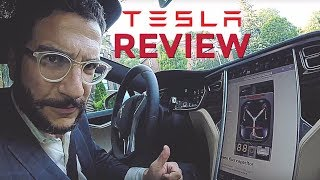 TESLA MODEL S REVIEW and Side-by-Side [WORST TECH REVIEW EVER!!!] #TBT