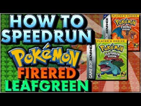 How To Start Speedrunning Pokemon Fire Red Leaf Green   Any% Speedrun & RNG Manipulation Tutorial