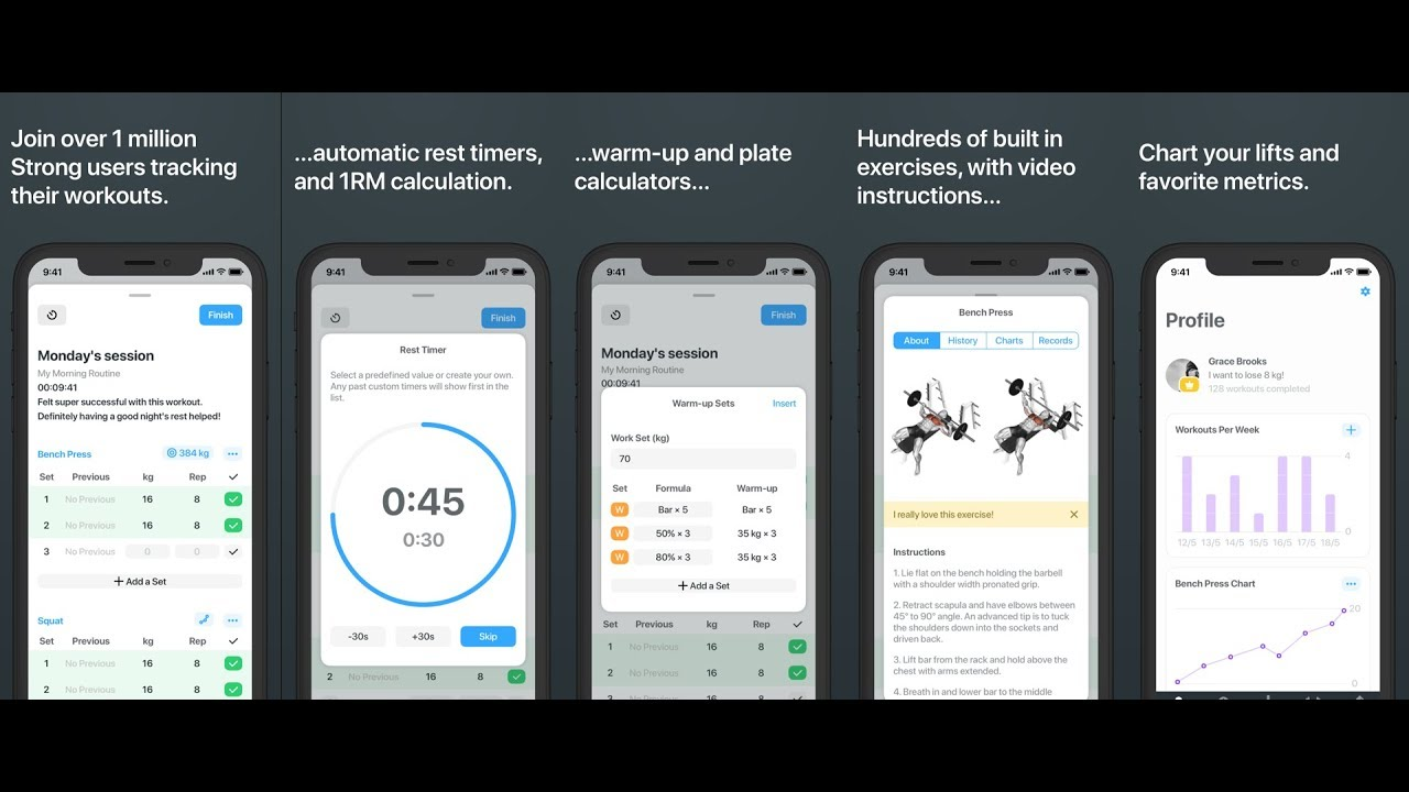 Strong 5 - Workout tracking made simple | Product Hunt