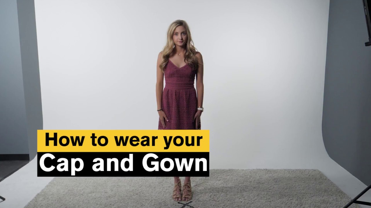 ASU Prep How to Wear Cap and Gown - YouTube