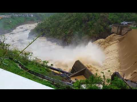 Comerio Dam in Puerto Rico Overflows After Torrential Rains
