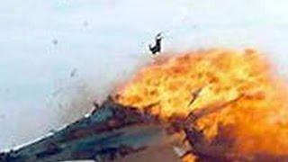 видео Пассажирский самолет загорелся при посадке в Иране, 17 человек погибли