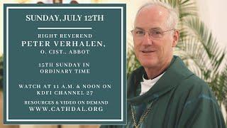 Sunday Mass with Abbot Peter Verhalen