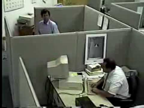 Guy gets REALLY mad at his computer!