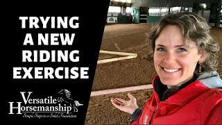 🔴 TRYING A NEW RIDING EXERCISE (live-stream) // Versatile Horsemanship