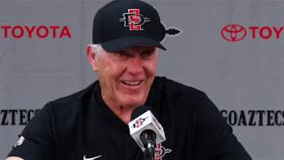 SDSU FOOTBALL: ROCKY LONG POSTGAME vs. EMU