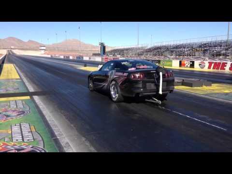 Chuck Watson drag racing @ Las Vegas Motor Speedway Run #3
