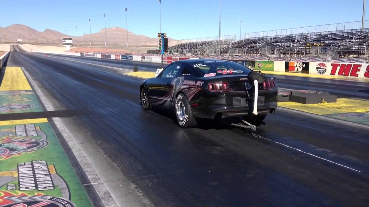 Chuck watson drag racing las vegas motor speedway run 3 for Las vegas motor speedway drag strip