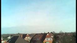 Wetter Emden Ostfriesland Zeitraffer vom 14.03.2016