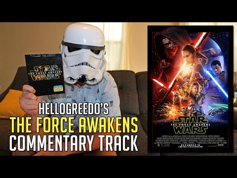 Star Wars: The Force Awakens - Commentary Track