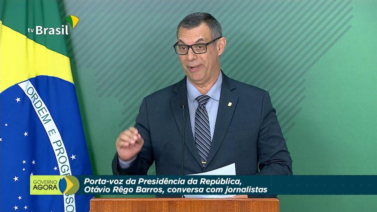Resultado de imagem para porta voz Otávio Rêgo Barros