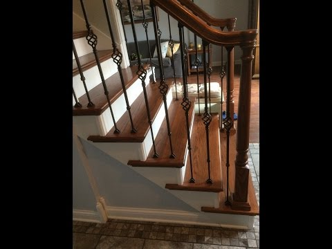 Staircase Remodel DIY - With Update Details