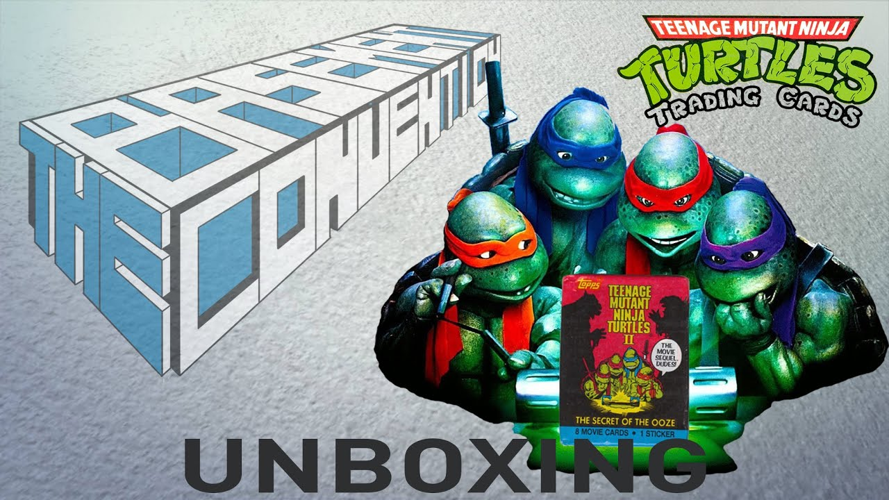 Retro review teenage mutant ninja turtles ii secret of the ooze - Teenage Mutant Ninja Turtles Ii Secret Of The Ooze Trading Card Unboxing