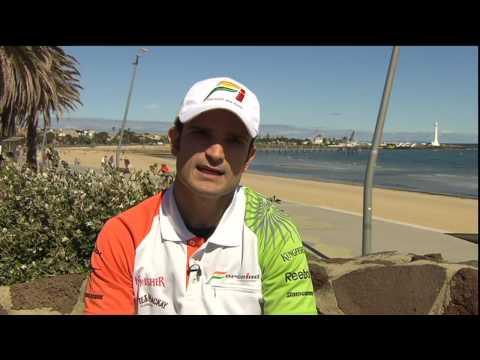 Tonio Liuzzi pre-Australian Grand Prix interview