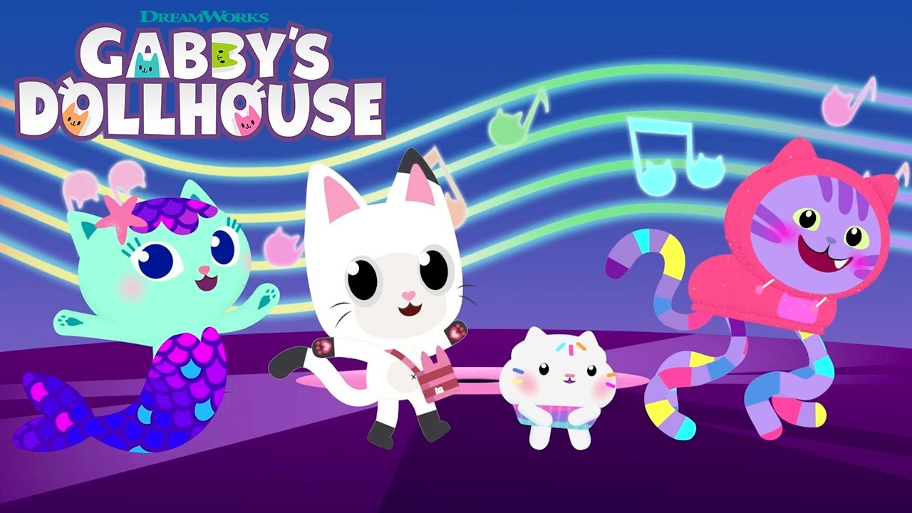 """Download """"Dance Like a Gabby Cat"""" Music Video   GABBY'S DOLLHOUSE (EXCLUSIVE SHORTS)   Netflix"""