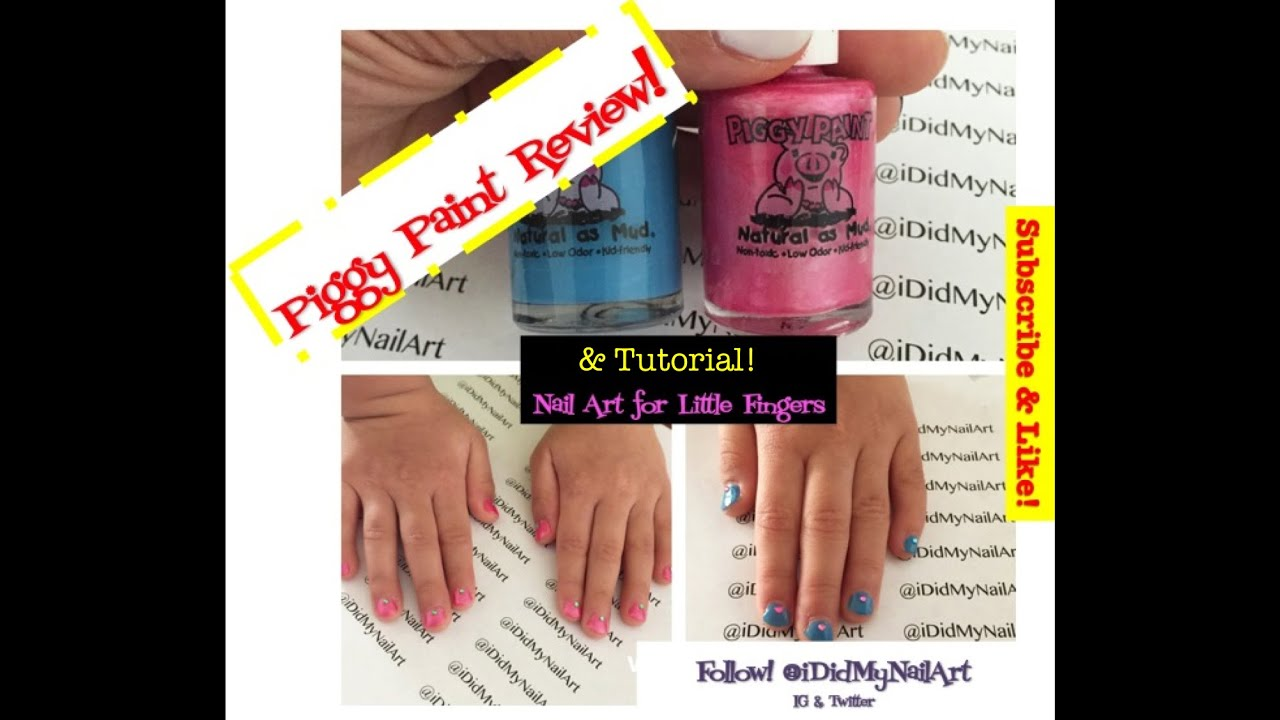 Piggy Paint Review And Nail Art Tutorial!