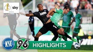Karlsruher SC - Hannover 96 2:0 | Highlights - DFB-Pokal 2019/20 | 1. Runde