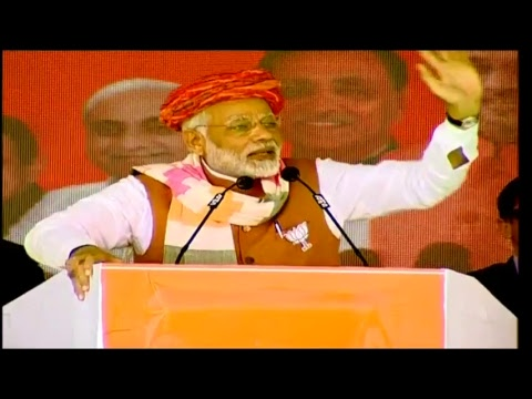 PM Shri Narendra Modi addresses public rally in Bhuj, Gujarat : 27.11.2017